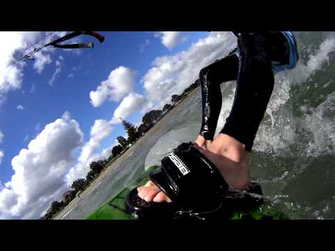 Kiteboarding with the Sony Action Cam