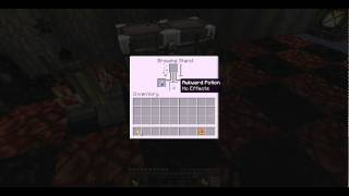 MineCraft 1.0.0 - How to make a Instant Health Potion(Healing)
