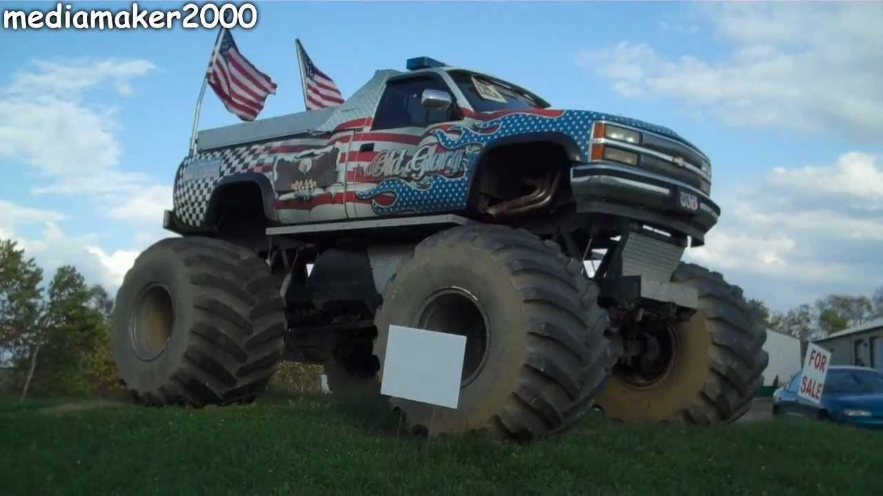 Monster Truck For Sale Youtube