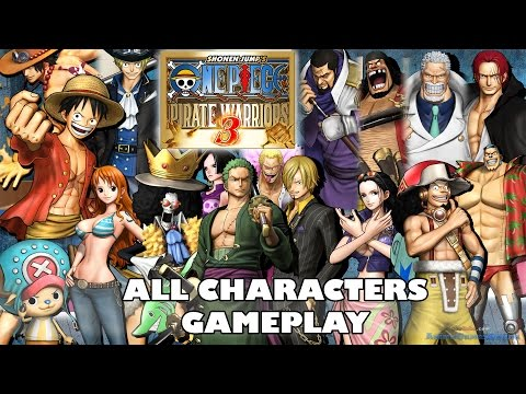 One Piece Pirate Warriors 3 All Characters Gameplay | ワンピース 海賊無双3 video