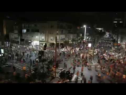 הפגנת ה-300 אלף בתל אביב בהילוך מהיר
