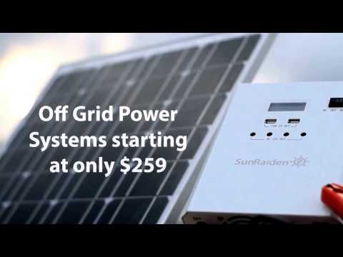 Sunraiden Solar Power Off Grid System