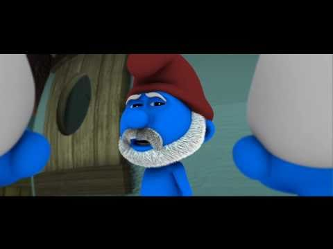 Smurf Movie Trailer Mashup: Inglourious Basterds