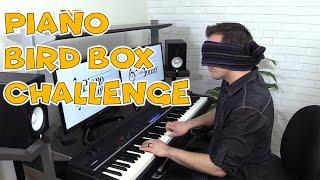 The Piano Bird Box Challenge - Lullaby of Birdland Jazz Piano - Jonny May