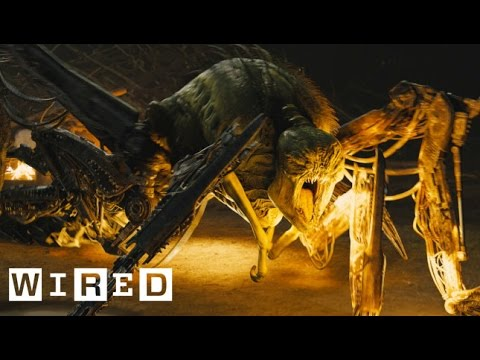 The Maze Runner Exclusive: Building the Mechanical Grievers & Complex Maze Set - Design FX - WIRED
