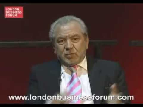Lord Sugar on Business: A Q&A session with the Chairman and Chief Executive of Amstrad