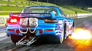 6 Second Flame Shooting Rotary! (20B FD rx7)