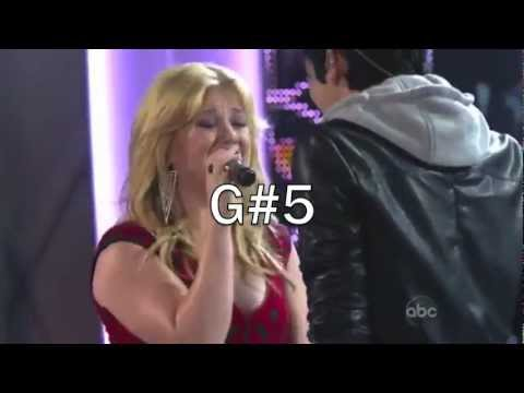 Kelly Clarkson - Best Belts from &quot;Duets&quot; (C5-A5)