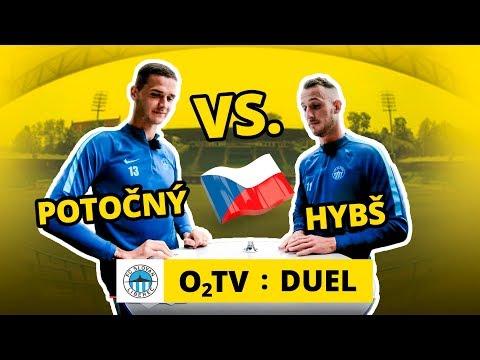 O2 TV Duel: Matěj Hybš a Roman Potočný hádají vlajky