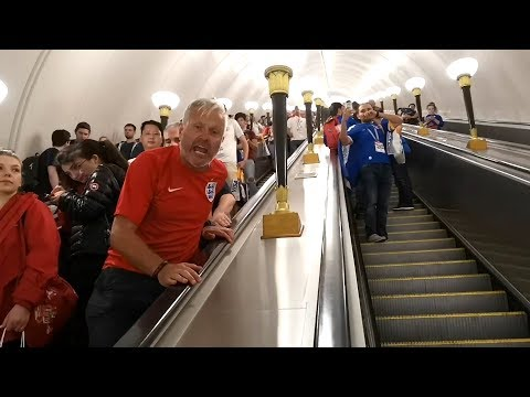 England Fans In Moscow Buoyant Despite Croatia Defeat - Russia 2018 World Cup thumbnail