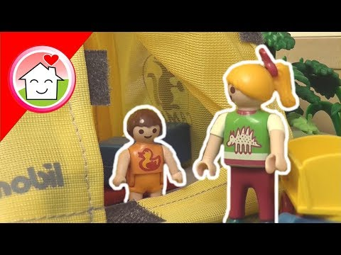 Playmobil Film Deutsch Camping Im Garten / Kinderfilm / Kinderserie Von Family Stories