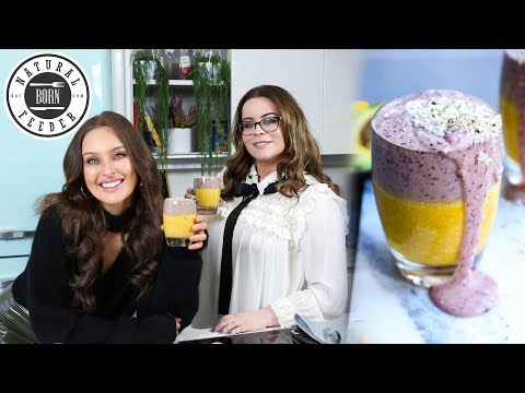 OVERNIGHT OATES SMOOTHIE | Natural Born Feeder by Roz Purcell