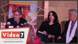 """بالفيديو.. الأديب التركى العالمى """"أورهان باموق"""" يفتتح مهرجان القاهرة الأدبى"""