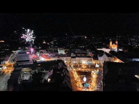 Újévi tűzijáték Szombathelyen - 2020.01.01.