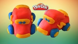 Play Doh Car : How to make a Play Doh Disney Car (Play Doh Creation)