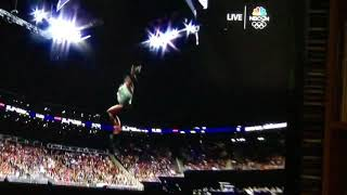 Simone Biles Triple-Double AND my reaction on the landing!