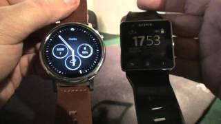 Lenovo MOTO 360 2nd GEN vs Sony Smartwatch 2 NEW!!!