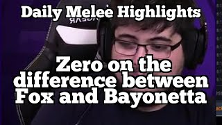 Daily Melee Highlights: Zero on the difference between Fox and Bayonetta