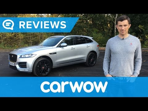 Jaguar F-Pace 2017 SUV review   Mat Watson Reviews