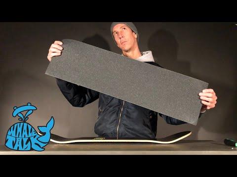 Mob Grip Black - How To Grip A Skateboard - Whale Talk