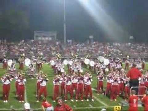 Dover/canton south Half time show Video