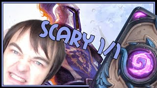 The only deck where a 1/1 is scary | Odd paladin | The Witchwood | Hearthstone