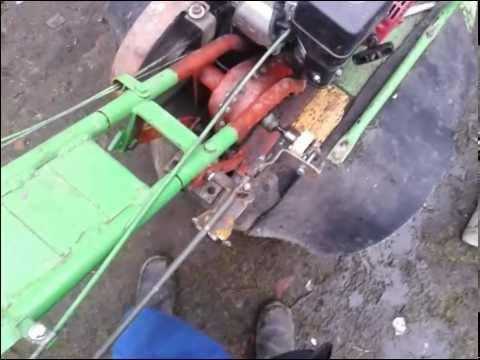 перегон МОТОБЛОК НЕВА МБ-1 youtube