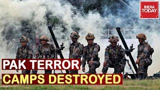 India Punishes Pak : Indian Artillery Guns Destroy Pak Terror Camps In PoK