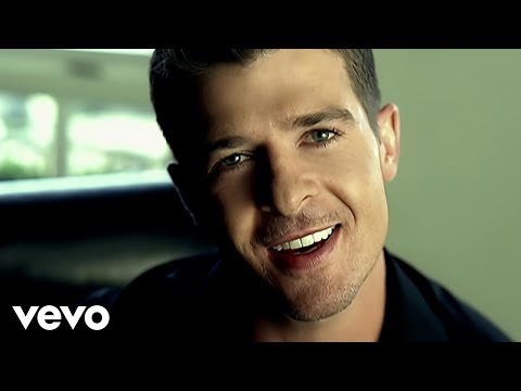 Robin Thicke - Lost Without U Music Videos