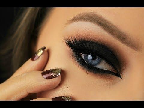 Black Cat Eye Smokey Eye   Drugstore Products   Eimear McElheron
