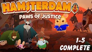 Hamsterdam: Paws Of Justice - PC HD Gameplay On Steam Part 1 - 5 Complete | Player Frip2GameOrg