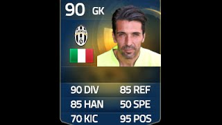 FIFA 15 | TOTS BUFFON 90 In-Depth Review w/ Gameplay!