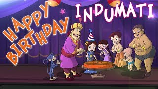 Chhota Bheem - Indumati's Birthday Special Video #BirthdaySpecialVideo