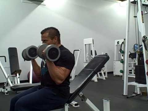 Dumbbell Bicep Workout Routine Image 1