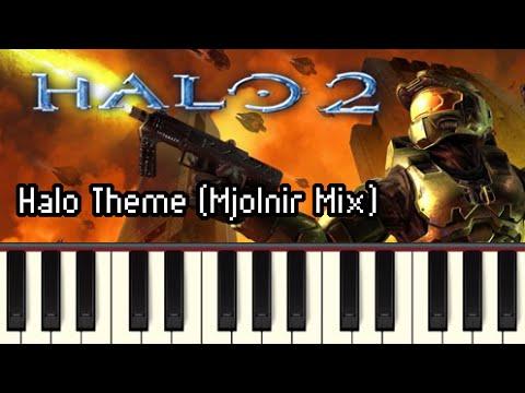 Halo Theme Mjolnir Mix  Halo 2 Synthesia
