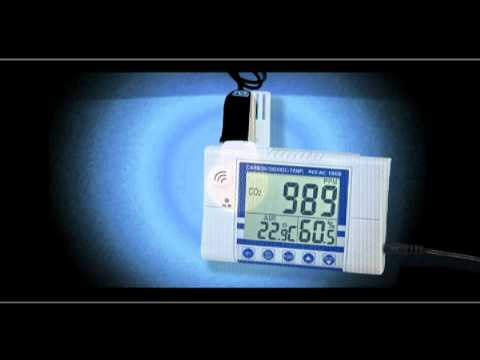 PCE-AC 1000; The CO2-Meter