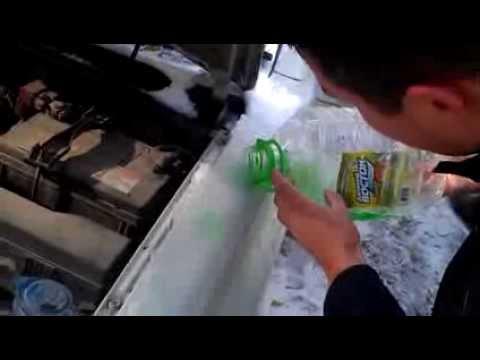Летняя жидкость для стёкл при -3С