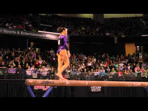 Jordyn Wieber - Balance Beam Finals - 2012 Kellogg&#039;s Pacific Rim Championships