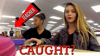 DID EMMA GET CAUGHT FILMING AT HER LAST DAY OF SCHOOL?