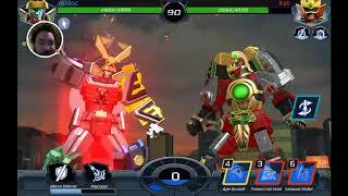 Power Ranger legacy wars zord battles