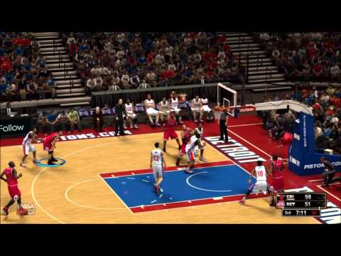 NBA 2K13: Chicago Bulls vs. Detroit Pistons - Association Mode