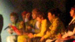 Block B amused by the group that performed their song :)