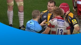 Twelvetrees with a good show of sportsmanship