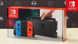 Unboxing Nintendo Switch - fabry90