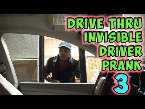 Drive Thru Invisible Driver Prank 3 [MagicOfRahat Prank]