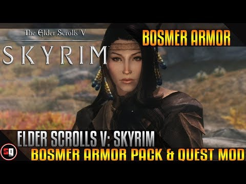 The Elder Scrolls V: Skyrim - Bosmer Armor Pack & Quest