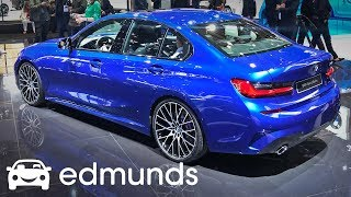 The 2019 BMW 3 Series Debuts at the Paris Auto Show  | Edmunds