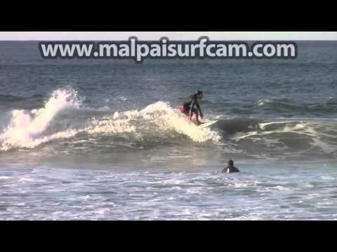 Surfing Mal Pais, www malpaisurfcam com 02 11 16 Santa Teresa Costa Rica