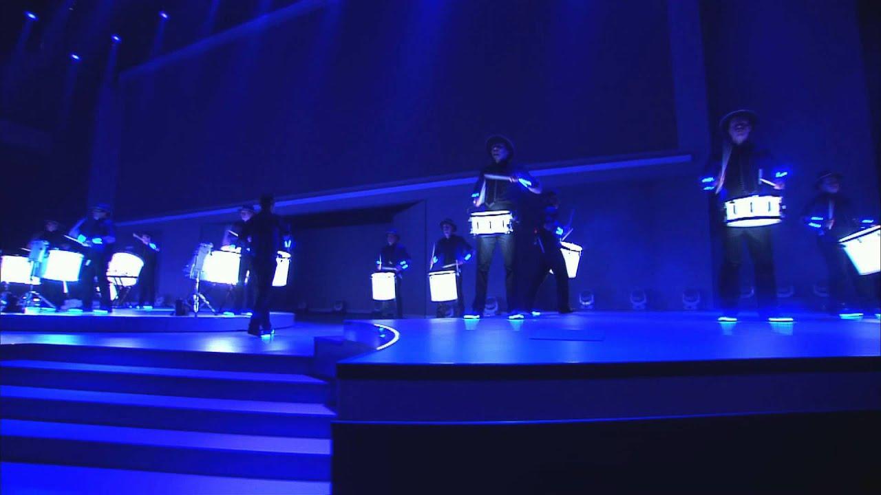 light drummers showreel