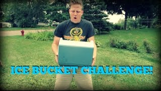 THE ICE BUCKET CHALLENGE: THE GEOCACHING VLOGGER!